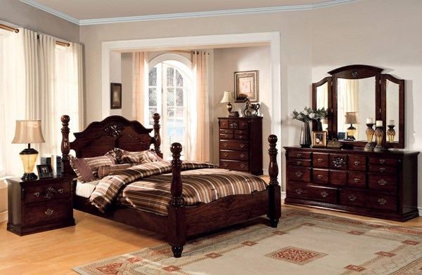 Furniture of America Tuscan II Master Bedroom Set FOA-CM7571-BR