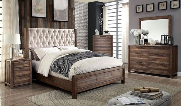 Furniture of America Hutchinson Master Bedroom Set FOA-CM7577-76-BR