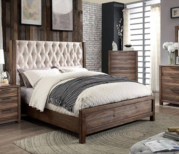 Furniture of America Hutchinson Queen Bed FOA-CM7577Q-BED