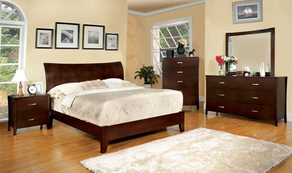 Furniture of America Midland Master Bedroom Set FOA-CM7600-BR