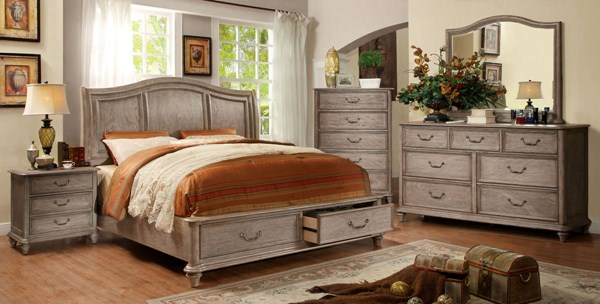 Furniture of America Belgrade I Beds FOA-CM7613-BED-VAR