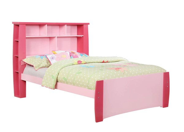 Furniture of America Marlee Pink Full Bed FOA-CM7651PK-F-BED