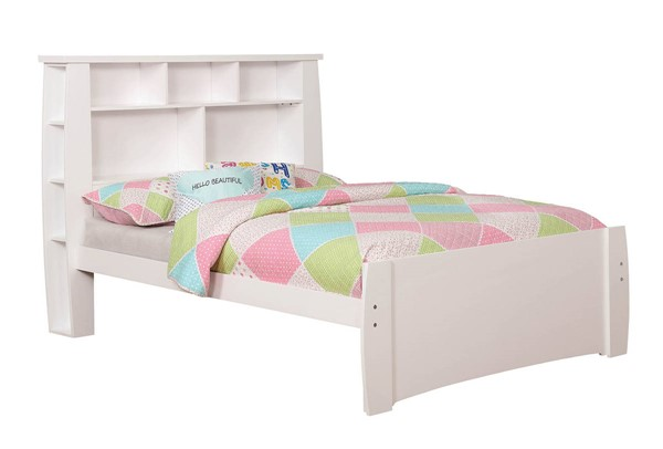 Furniture of America Marlee White Full Bed FOA-CM7651WH-F-BED