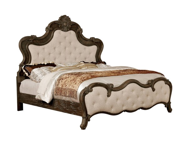Furniture Of America Cursa King Bed FOA-CM7664EK-BED