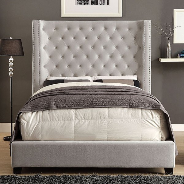 Furniture of America Mirabelle Cal King Bed FOA-CM7679IV-CK