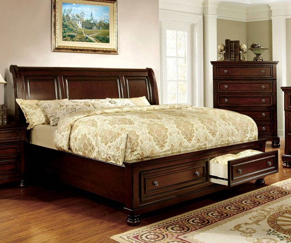 Furniture of America Northville Queen Storage Bed FOA-CM7683Q-BED