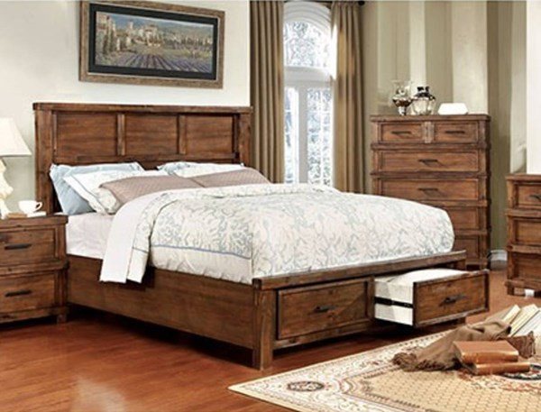 Furniture of America Baddock Drawer Beds FOA-CM7692-BED-VAR