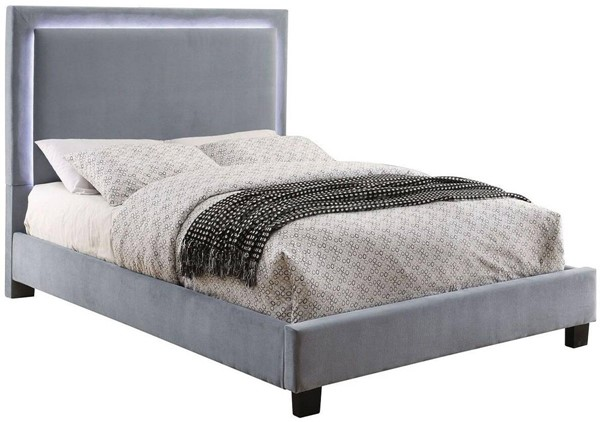 Furniture Of America Erglow I Gray Twin Bed FOA-CM7695GY-T-BED