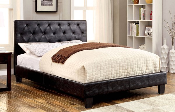 Furniture of America Kodell Cal King Bed FOA-CM7795BK-CK-BED