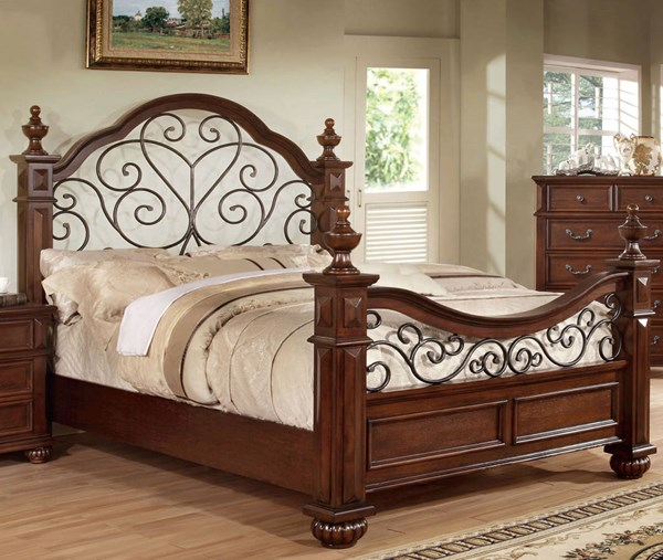 Furniture of America Landaluce King Bed FOA-CM7811EK-BED
