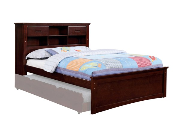 Furniture Of America Pearland Dark Walnut Full Bed FOA-CM7844F-BED