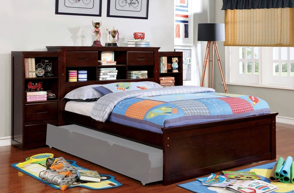 Furniture Of America Pearland 2 Bookcase Beds FOA-CM7844-3PK-VAR