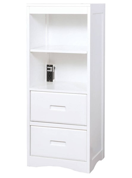 Furniture of America Pearland White Book Case FOA-CM7844WH-BC