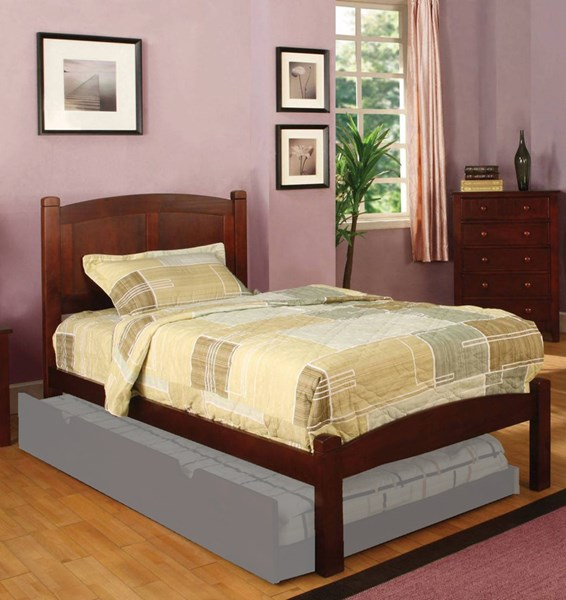 Furniture of America Cara Cherry Full Bed FOA-CM7903CH-F-BED