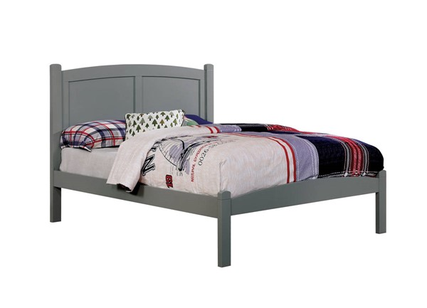 Furniture of America Cara Gray Trundle Beds FOA-CM7903-TR453-BED-VAR