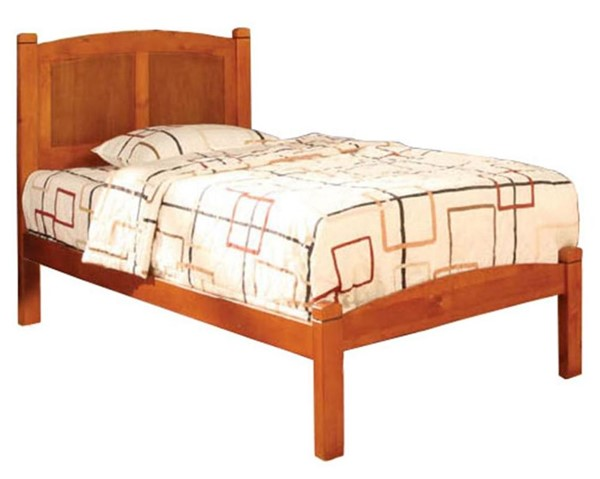 Furniture of America Cara Oak Twin Bed FOA-CM7903OAK-T-BED
