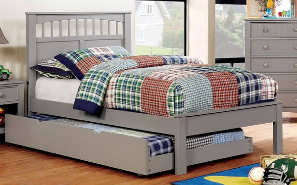 Furniture of America Carus Trundle Beds FOA-CM7904-TR-BED-VAR