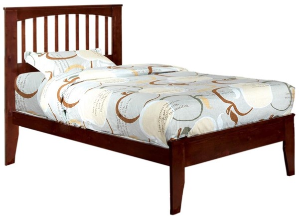 Furniture of America Pine Brook Cherry Twin Bed FOA-CM7908CH-T-BED