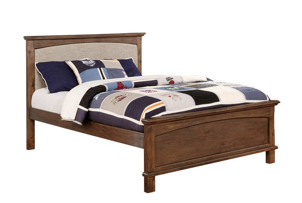 Furniture of America Colin Fabric Full Bed FOA-CM7909A-P-F-BED