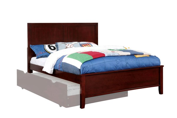 Furniture Of America Prismo Cherry Full Bed FOA-CM7941CH-F-BED