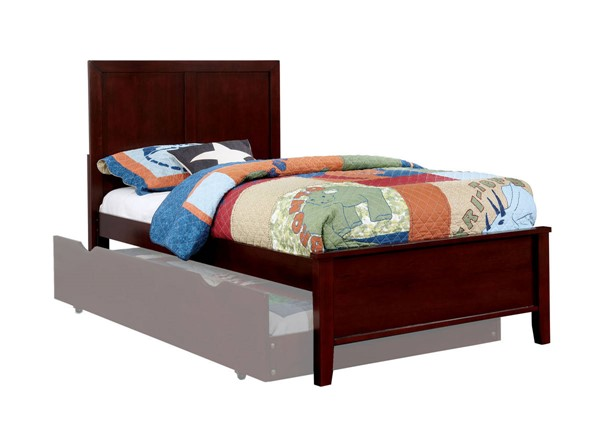 Furniture Of America Prismo Cherry Twin Bed FOA-CM7941CH-T-BED