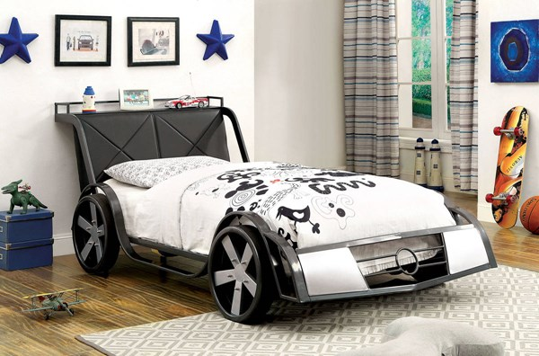 Furniture of America GT Racer Twin Bed FOA-CM7946-BED