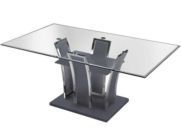 Furniture of America Glenview I Dining Table FOA-CM8372GY-T-TABLE