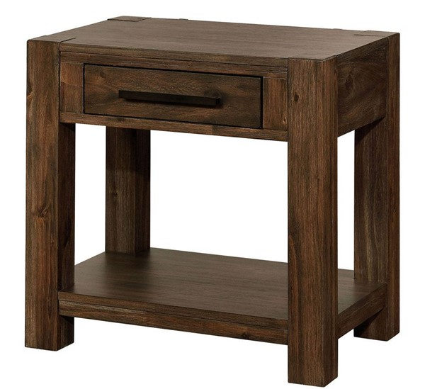 Furniture Of America Coney Walnut Night Stand FOA-FOA7881N