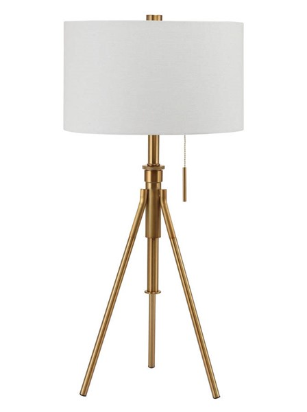 Furniture of America Zaya Stained Gold Table Lamp FOA-L731171T-GL
