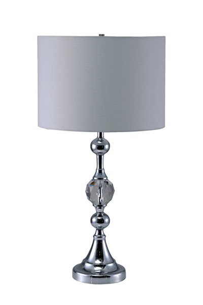 Furniture of America Emi White Table Lamp FOA-L76187T