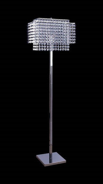 Furniture of America Kit Clear Floor Lamp FOA-L76832