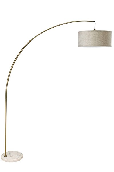 Furniture of America Jess Antique Gold Arch Lamp FOA-L76931AB