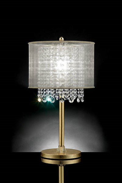 Furniture of America Ana Gold Table Lamp FOA-L9154T