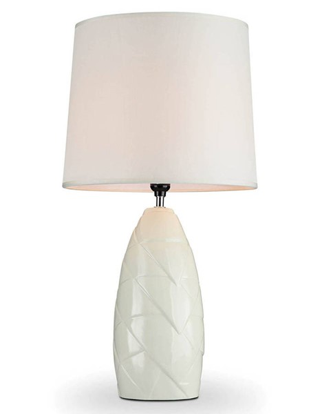 Furniture of America Lois Ivory Table Lamp FOA-L9505