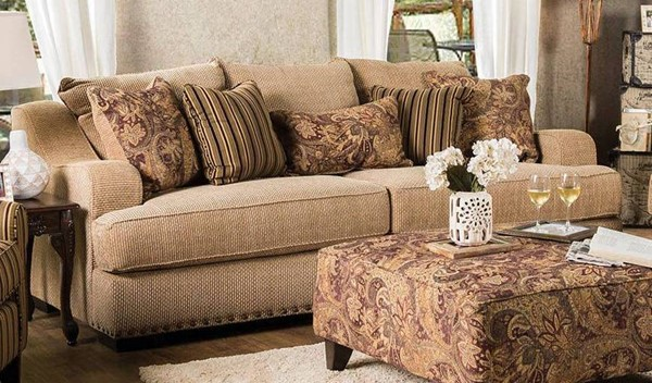 Furniture of America Arklow Sofa FOA-SM1241-SF