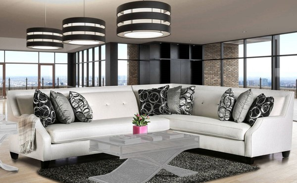 Furniture of America Betria Sectional FOA-SM2263-SECTIONAL