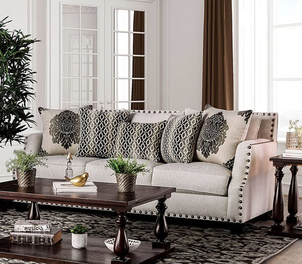 Furniture of America Cornelia Sofas FOA-SM3072-SF-VAR