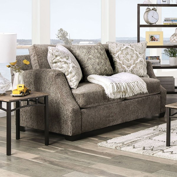 Furniture of America Laila Fabric Loveseats FOA-SM3082-LS-VAR