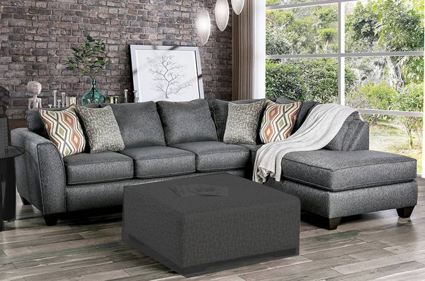Furniture of America Earl Gray Sectional FOA-SM5152-SECT