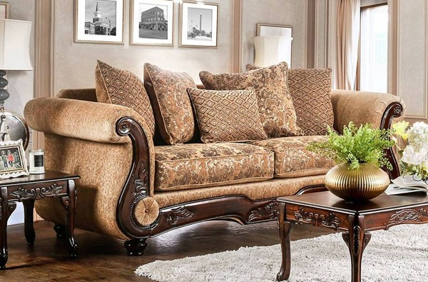 Furniture of America Nicanor Sofa FOA-SM6407-SF