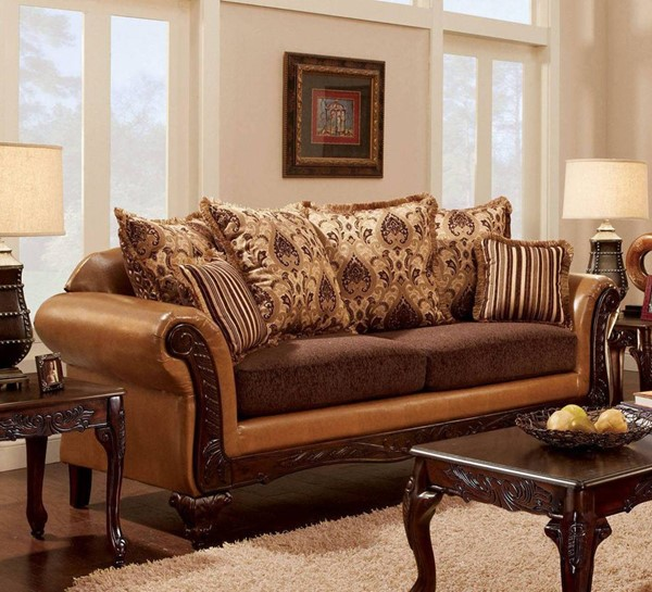 Furniture of America Isabella Sofa FOA-SM7506-SF