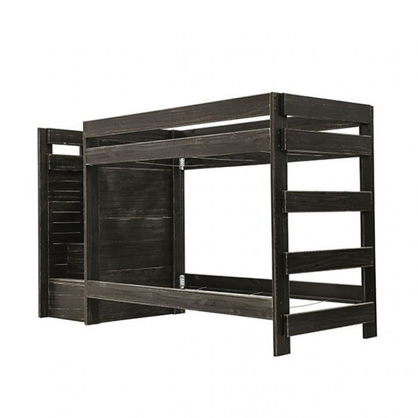 Furniture Of America Ampelios Twin Over Twin Bunk Beds FOA-AM-BK102-BED-SLAT-VAR