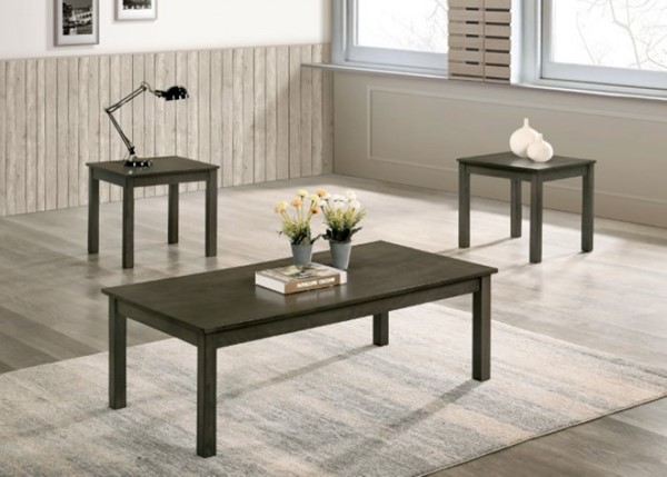 Furniture Of America Cecily Gray 3 In 1 Pack FOA-CM4149GY-3PK