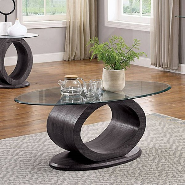 Furniture of America Lodia Gray Coffee Table FOA-CM4825GY-C-PK