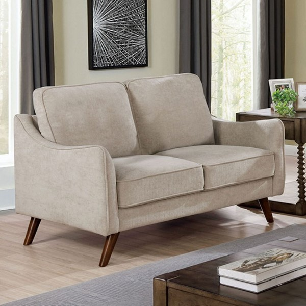 Furniture Of America Maxime Light Gray Loveseat FOA-CM6971LG-LV