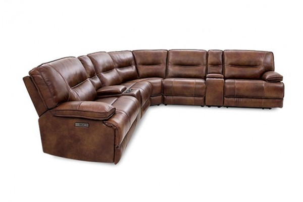 Furniture Of America Louella Brown Power Sectional FOA-CM9905-SECT
