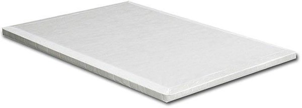 Furniture of America Lupine White 2 Inch Queen Bunkie Board FOA-DM-Bunkie-Q