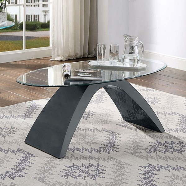Furniture Of America Nahara Gray Coffee Table FOA-4042GY-C-TABLE