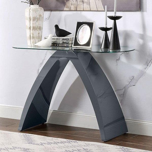 Furniture Of America Nahara Gray Sofa Table FOA-4042GY-S-TABLE