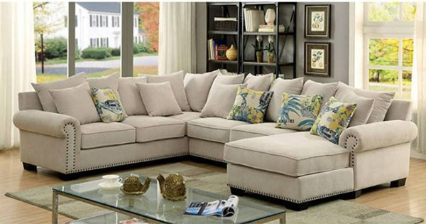 Furniture of America Skyler Sectional FOA-CM6156-SECTIONAL